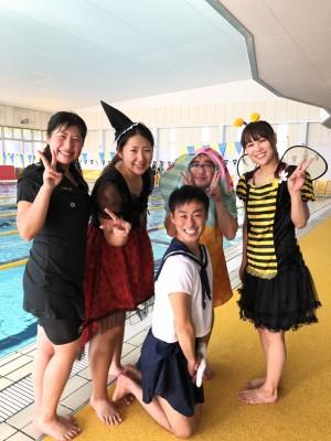 ハロウィーン★アクアイベント 大盛り上がり!!